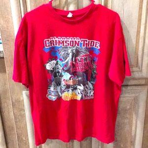 Alabama Crimson Tide Football Short Sleeve T-Shirt